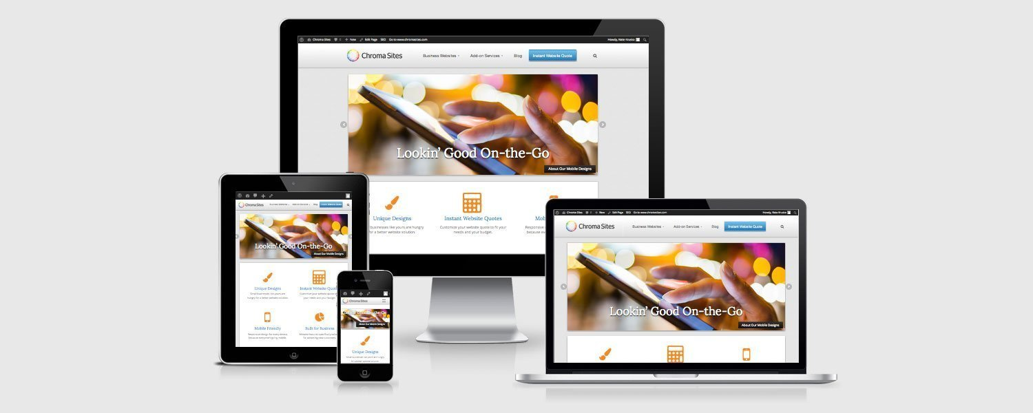 Do you know if you have a responsive website?