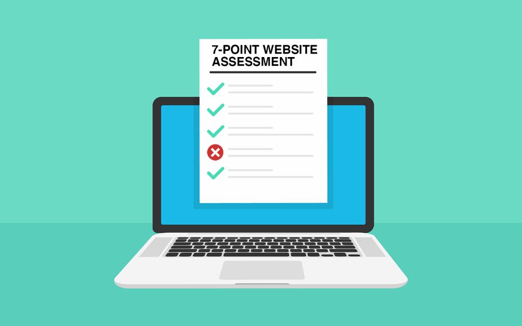 7 point website assessment